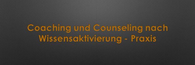coaching und counseling nach wissensaktivierung praxis 2