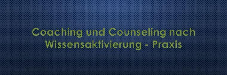 coaching und counseling nach wissensaktivierung praxis 3